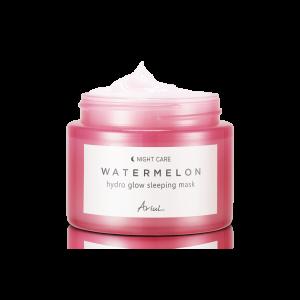 Masca de Noapte pentru Fata cu Pepene Rosu Ariul Watermelon Hydro Glow, 80g - Poza 2