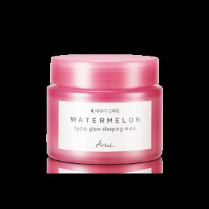 Masca de Noapte pentru Fata cu Pepene Rosu Ariul Watermelon Hydro Glow, 80g