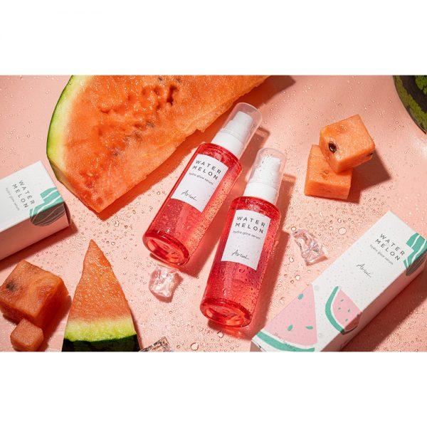 Serum cu Pepene Rosu Ariul Watermelon Hydro Glow, 55ml - Poza 3