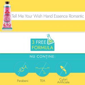 Crema de Maini si Unghii Ariul Tell Me Your Wish Hand Essence Romantic, 30g - Poza 2