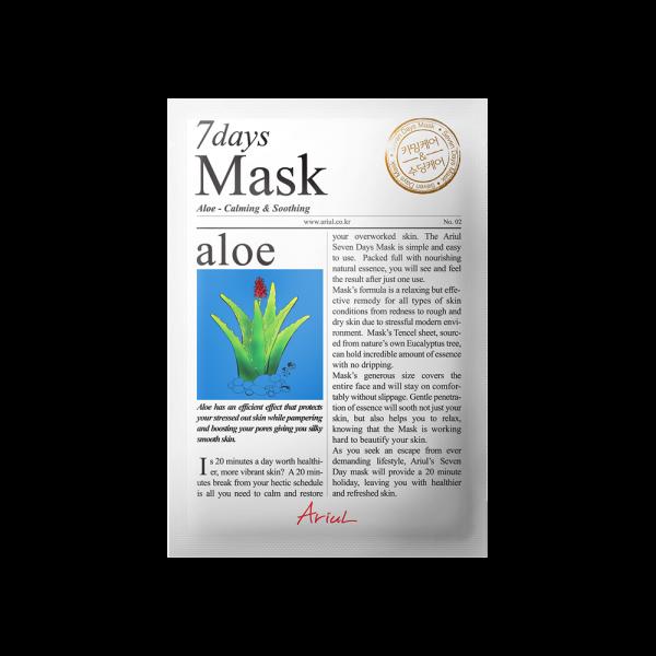 Masca Ariul 7 Days Aloe Vera, 20g - Poza 2