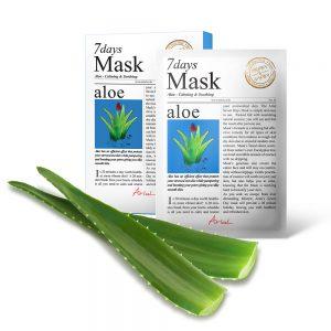 Masca Ariul 7 Days Aloe Vera, 20g