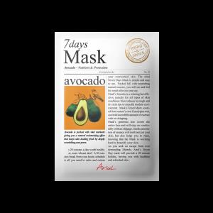Masca Ariul 7 Days Avocado, 20g - Poza 2