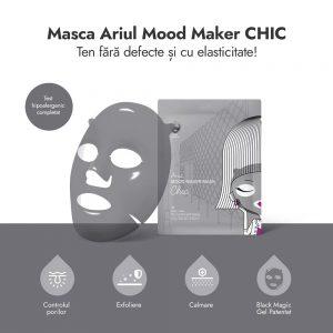 Mască Ariul Mood Maker Chic Controlul Porilor, 17g - Poza 2
