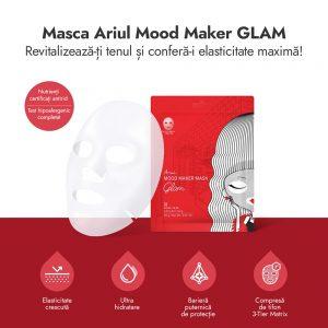 Mască Ariul Mood Maker Glam Antirid 23g - Poza 2