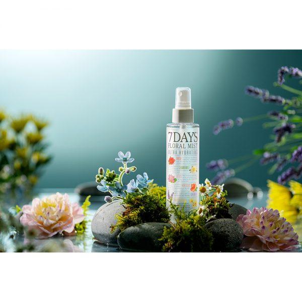 Spray de Față Ariul 7days Floral, 150ml - Poza 3